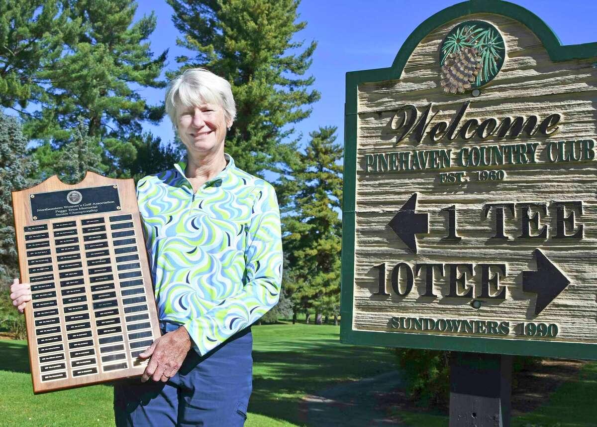 Nan Lanahan of Pinehaven captured the NEWGA senior championship in 2020. (Joyce Bassett / Times Union)