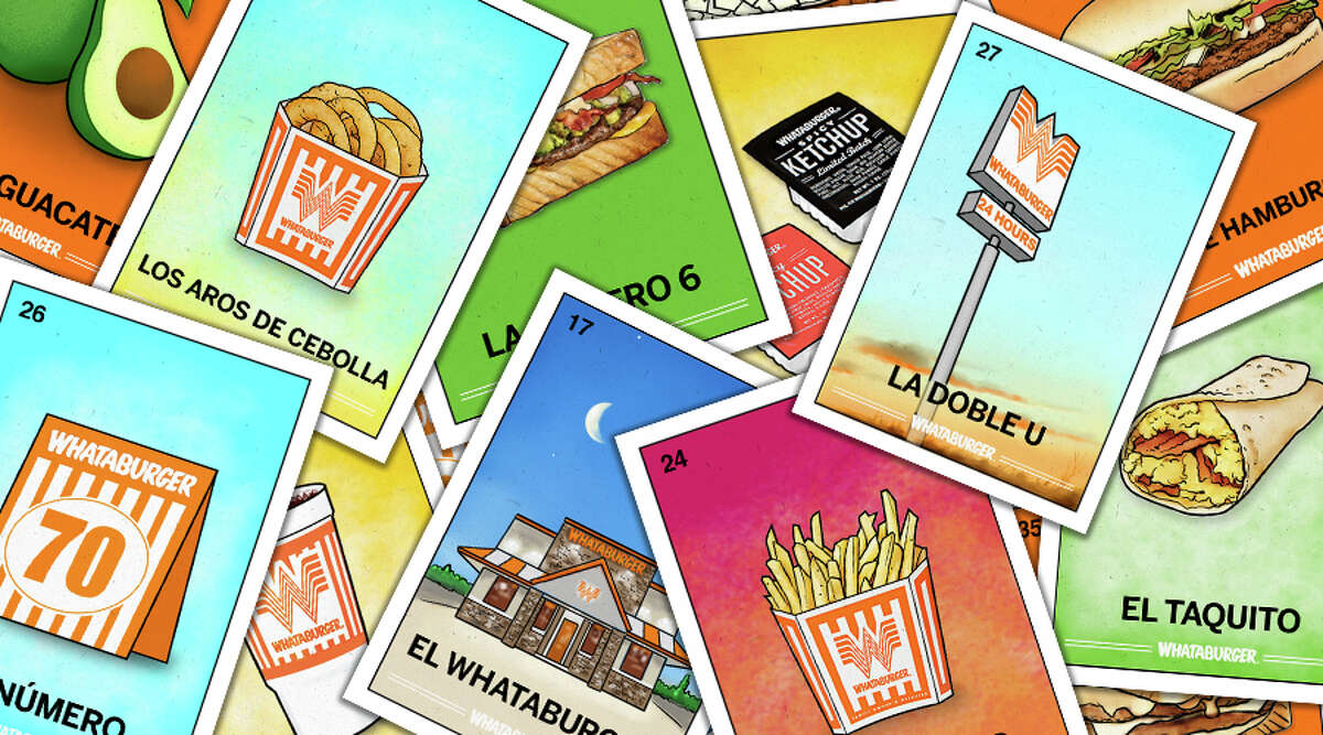Whataburger Lotería is here just in time to celebrate Hispanic Heritage Month with fun cards depicting various menu items.