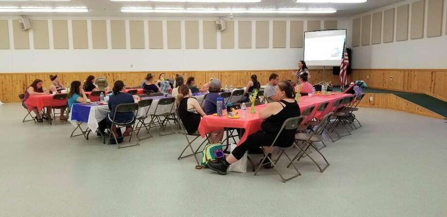 Featured is a photo from a past baby shower event.Typically a reoccurring event, Wimmer said due to COVID-19, this year's baby shower will take place virtually throughout the entire month of November.(Courtesy photo)