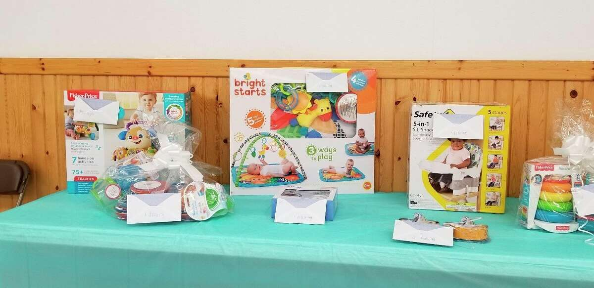 During the shower, moms and caregivers willreceive a gift for participating. Items are based on availability and include diapers, wipes, lanolin samples, diaper cream, outlet covers, mirrors for tummy time, personal care items for moms, and self-care items for moms. Car seats will be available to the first 100 registrations. Featured is a photo from a past baby shower event.(Courtesy photo)