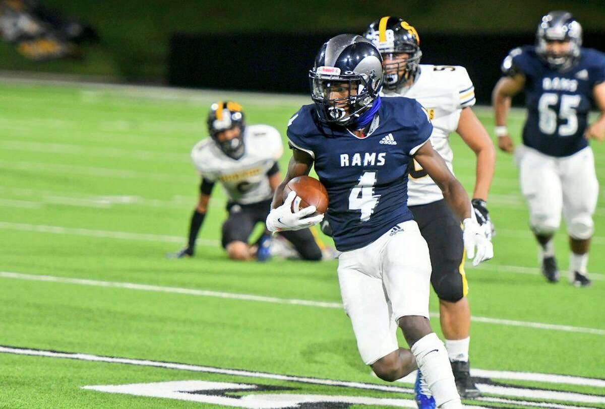 Cy Ridge defeated previously undefeated Spring Woods 45-7 in the District 17-6A opener Friday, Oct. 9, at Pridgeon Stadium.