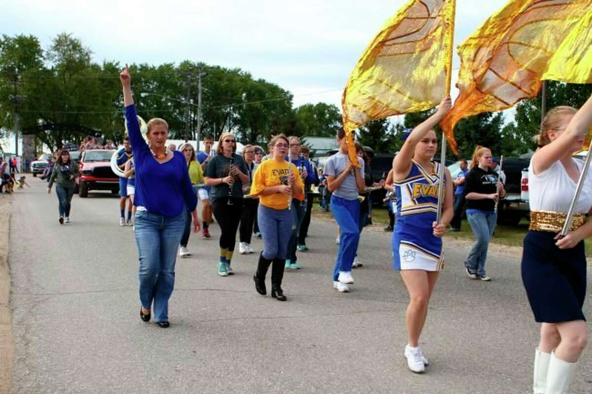 Evart High School will still be able to host its annual homecoming parade this year, despite COVID-19 restrictions in place at the school district. Those watching the parade are asked to socially distance and wear a mask. (Pioneer file photo)