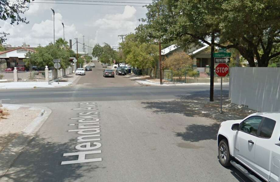 The intersection of Chihuahua Street and Hendricks Avenue is pictured, the site of a serious accident occurred over the weekend. Photo: Courtesy /Google Maps