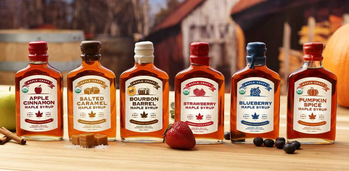 Maple Craft Foods, based in Newtown, offers a variety of flavored maple syrups.