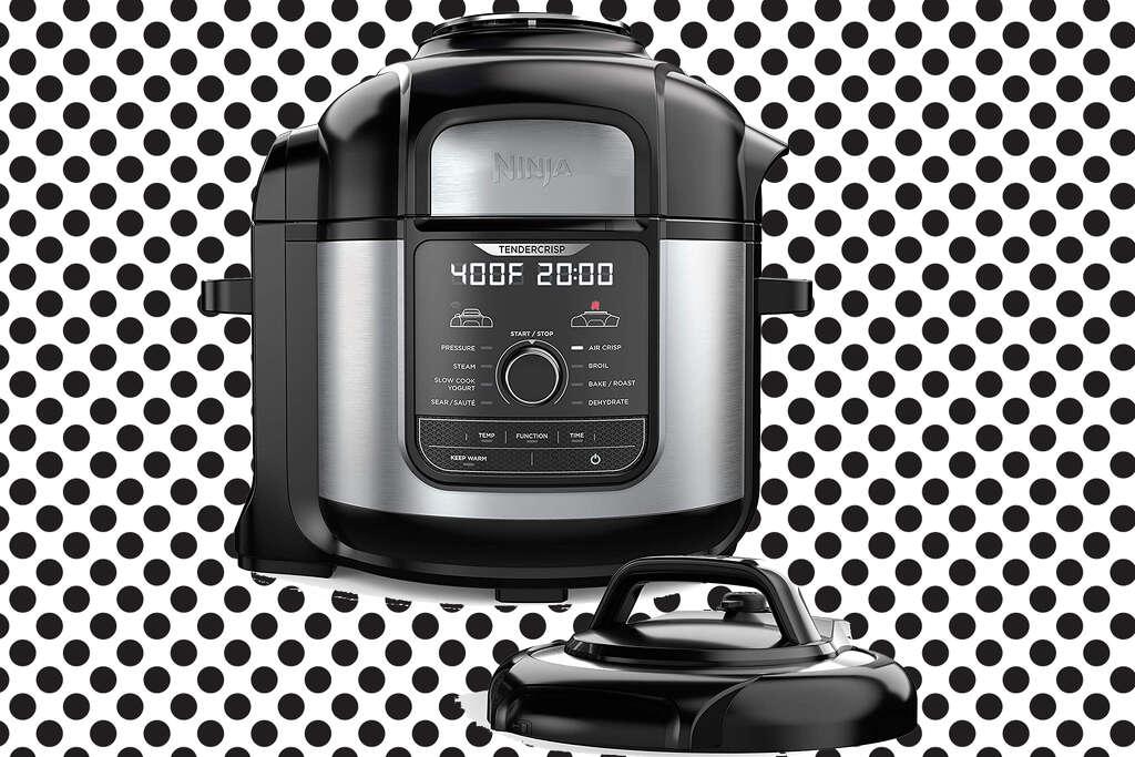 NinjaFoodi 8-Quart 9-in-1 Deluxe XL Pressure Cooker is $199.99.