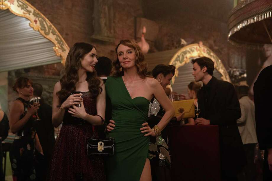 "Lily Collins stars in ""Emily in Paris"" on Netflix. Photo: Netflix / Contributed Photo / © 2020 Netflix, Inc."