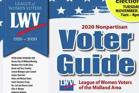 League of Women's Voters - Voting Guide 2020