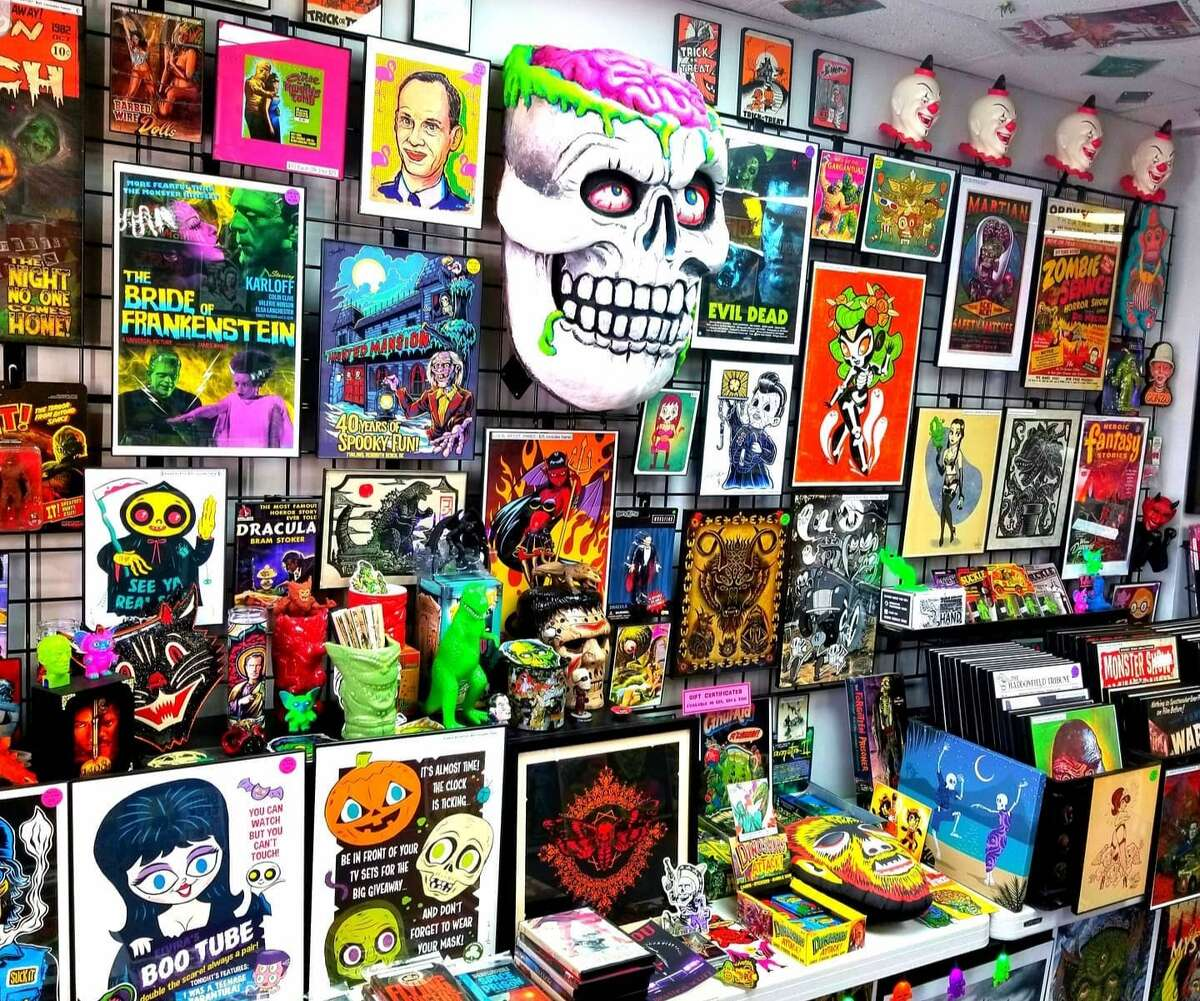 Weirdo Wonderland is located at 225 Bridgeport Ave. in Milford. Bruce opened the store in April 2019 and has provided fans of the horror genre with a refuge, complete with a hodge-podge of collectibles. Walking into the shop, one can find anything from one-of-a-kind art prints of some of the most iconic horror slashers like Freddy Kreuger to film-quality masks from retro horror movies like