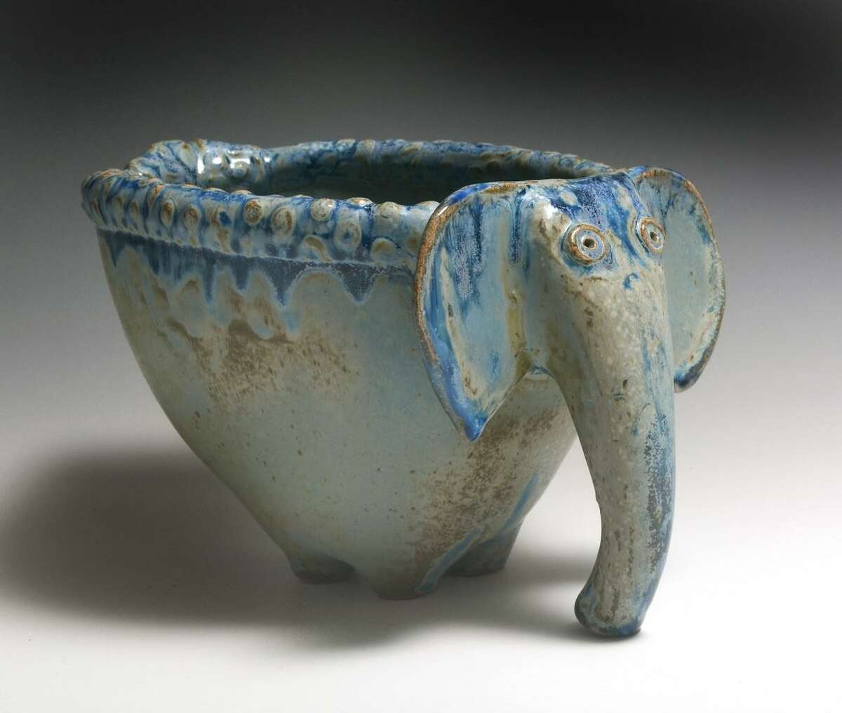 Alison Palmer's clay sculptures are part of the Clayway show in Kent, opening this weekend.