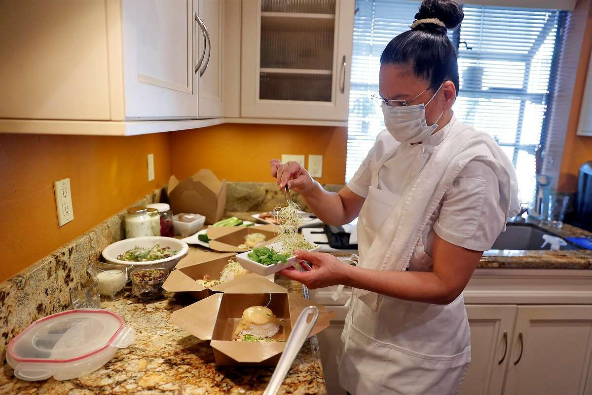 Asian fusion chef Kistner wants to model her carry-out dishes on the cuisine of her Filipino restaurant Bale Ku Café.