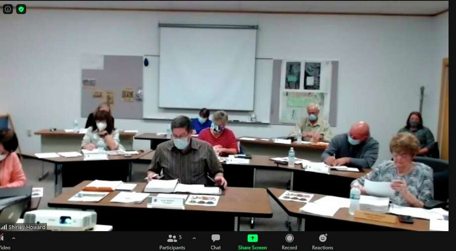 The Evart Board of Education met Monday for its regular meeting. During the meeting, board members discussed the possibility of resuming meetings for after-school groups. (Courtesy photo)