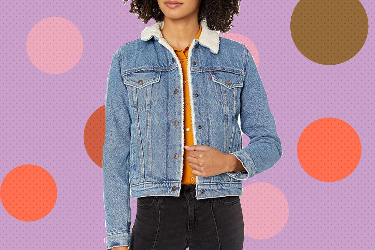 Levi's Women's Original Sherpa Trucker Jackets, $30 off on Amazon