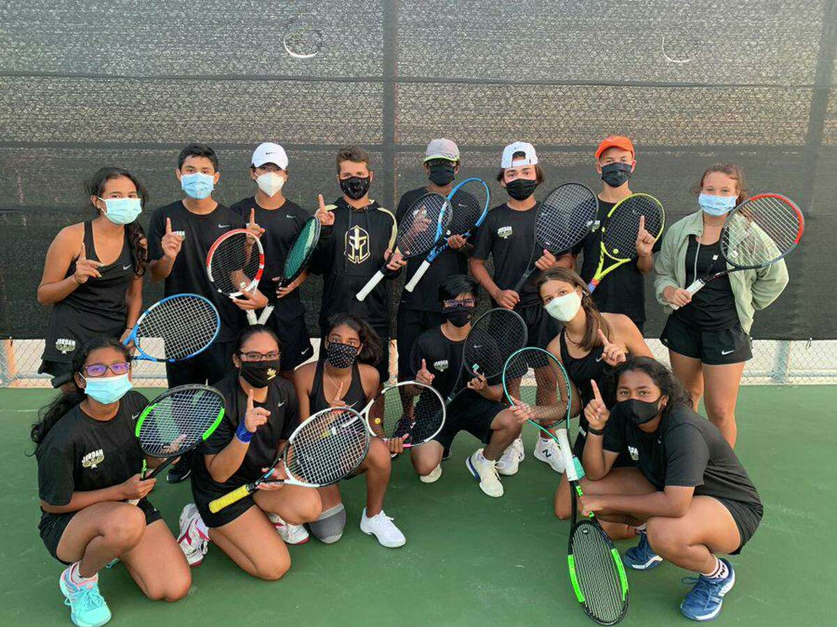 The Jordan tennis team improved to 5-1 for the season with a 14-5 victory against Paetow in a District 19-5A match.
