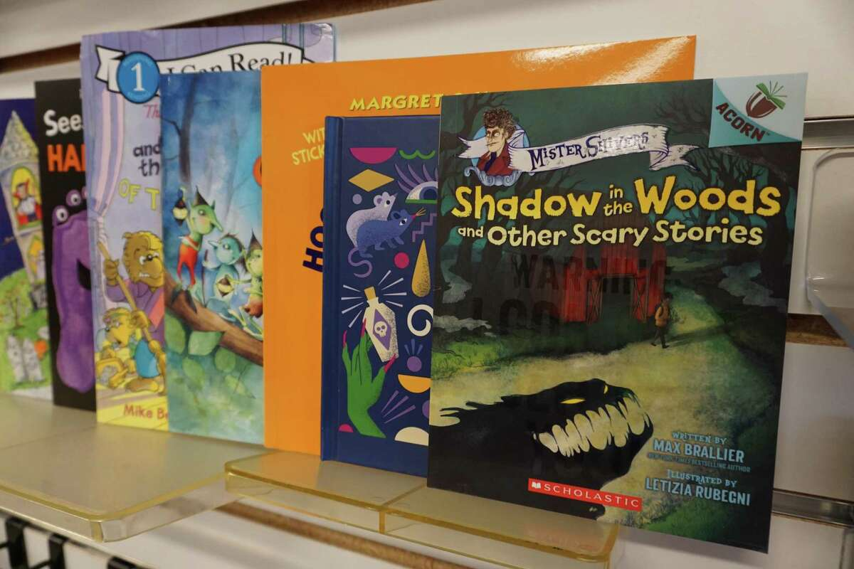 Katy Budget Books, is located at 870 S. Mason Road, Suite 101, Katy, and has a variety of Halloween books for children of all ages.