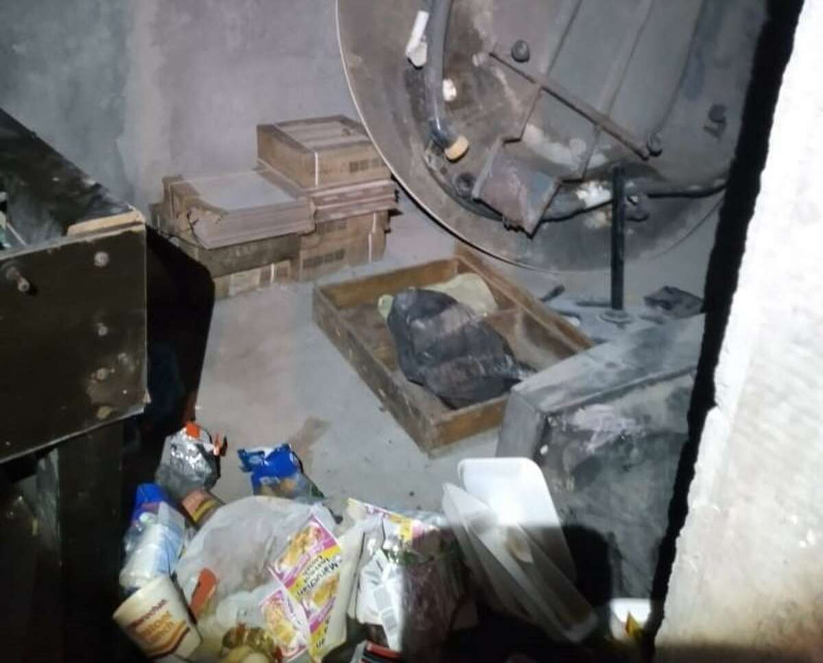 Tamaulipas state police officers said they found five immigrants who were held against their will in this home. State police officers rescued the immigrants after a woman within the group reported the incident via the state government's Facebook account.