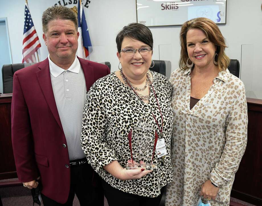 Jamie Youngblood was named the Silsbee Teacher of the Year by the Silsbee Chamber of Commerce. Photo: Silsbee ISD / Silsbee ISD/