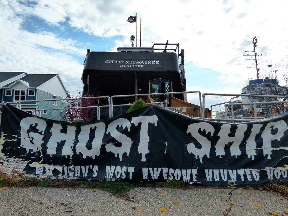 The annual Ghost Ship, held on the S.S. City of Milwaukee in Manistee, will run from 7:30-10:30 p.m. every Friday and Saturday throughout October. (Scott Fraley/News Advocate)