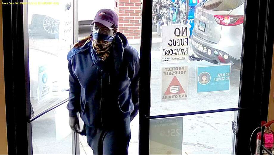 Southbury police are asking for the public's help identifying this man, believed to be from Waterbury Photo: Contributed /Southbury Police Department