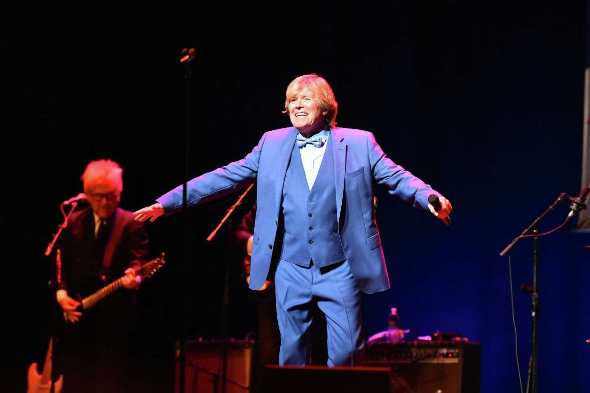 Peter Noone of Herman's Hermits perform's recently at the Tobin Center as live music slowly returns to San Antonio venue's.