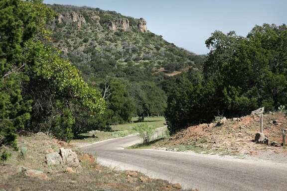 The scenic drive on Willow City Loop presents iconic views of the Texas Hill Country.