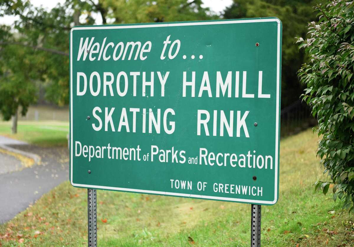 The Dorothy Hamill Skating Rink in Greenwich, Conn., photographed on Tuesday, Oct. 13, 2020.