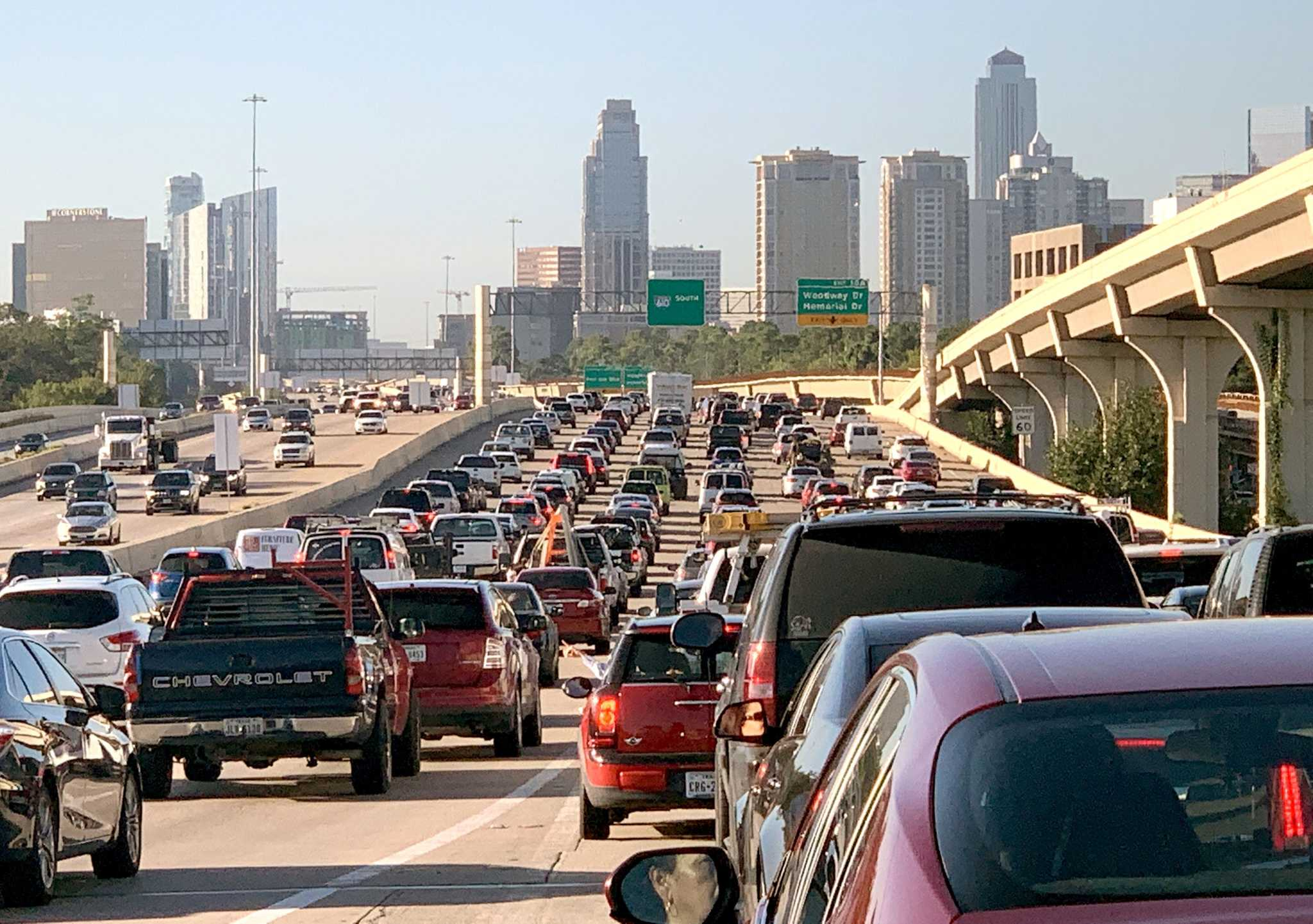 Congrats, Houston: We no longer have the most congested road in Texas