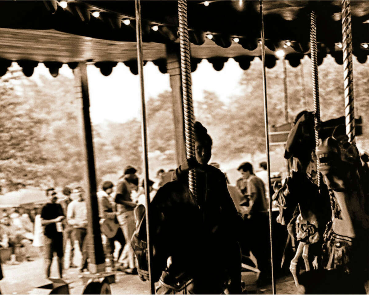 Griffith Park Carousel in 1967.