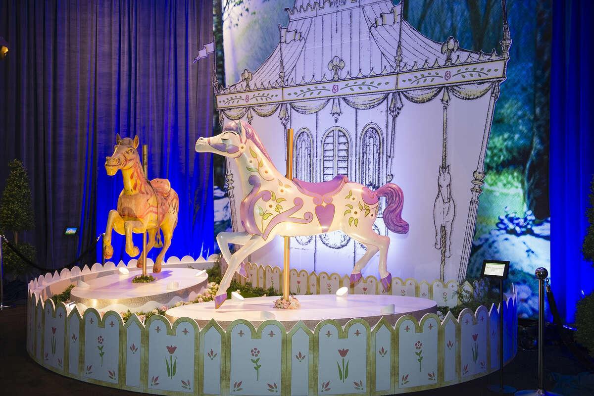 The original horses ridden by Julie Andrews and Dick Van Dyke in