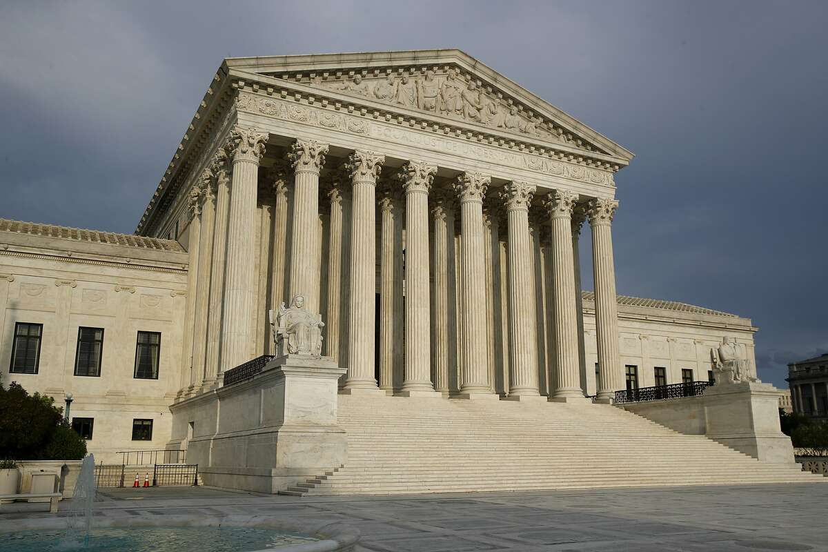The Supreme Court denied a request to stop an extended period for returning mail ballots in Pennsylvania. The court was tied on the Republican request, which means the effort failed.