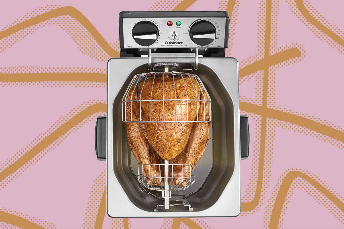 Cuisinart CDF-500 Extra-Large Rotisserie Deep Fryer, $119.99 on Amazon ($180 off)
