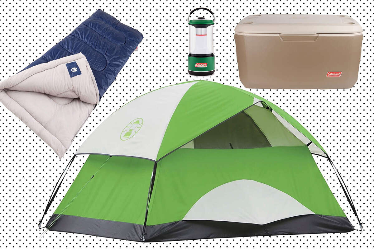 Save up to 40% on Coleman camping essentials