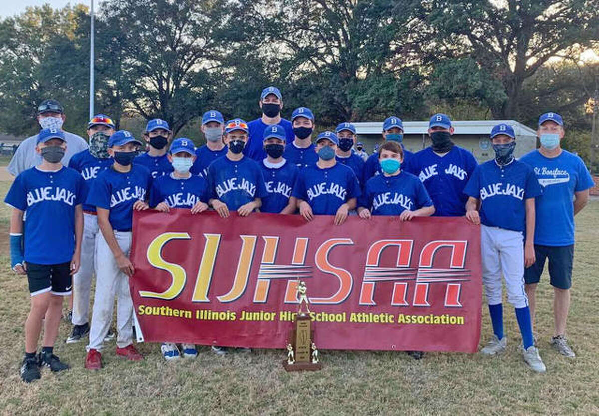 The St. Boniface/St. Mary's Blue Jays lost to Christopher 4-1 in the Class M state championship game of the Southern Illinois Junior High School Athletic Association on Tuesday in Pinckneyville.
