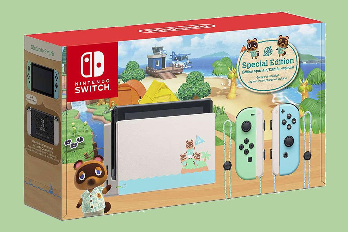Nintendo Switch - Animal Crossing: New Horizons Edition, $299 at Amazon