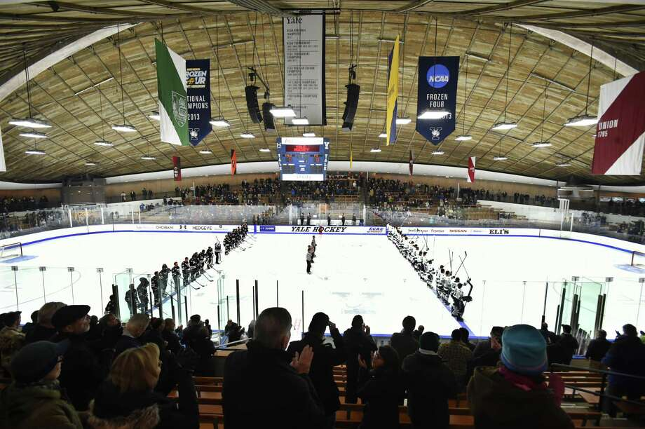 Yale's Ingalls Rink in New Haven on January 10, 2016. Photo: Catherine Avalone / New Haven Register / Catherine Avalone/New Haven Register