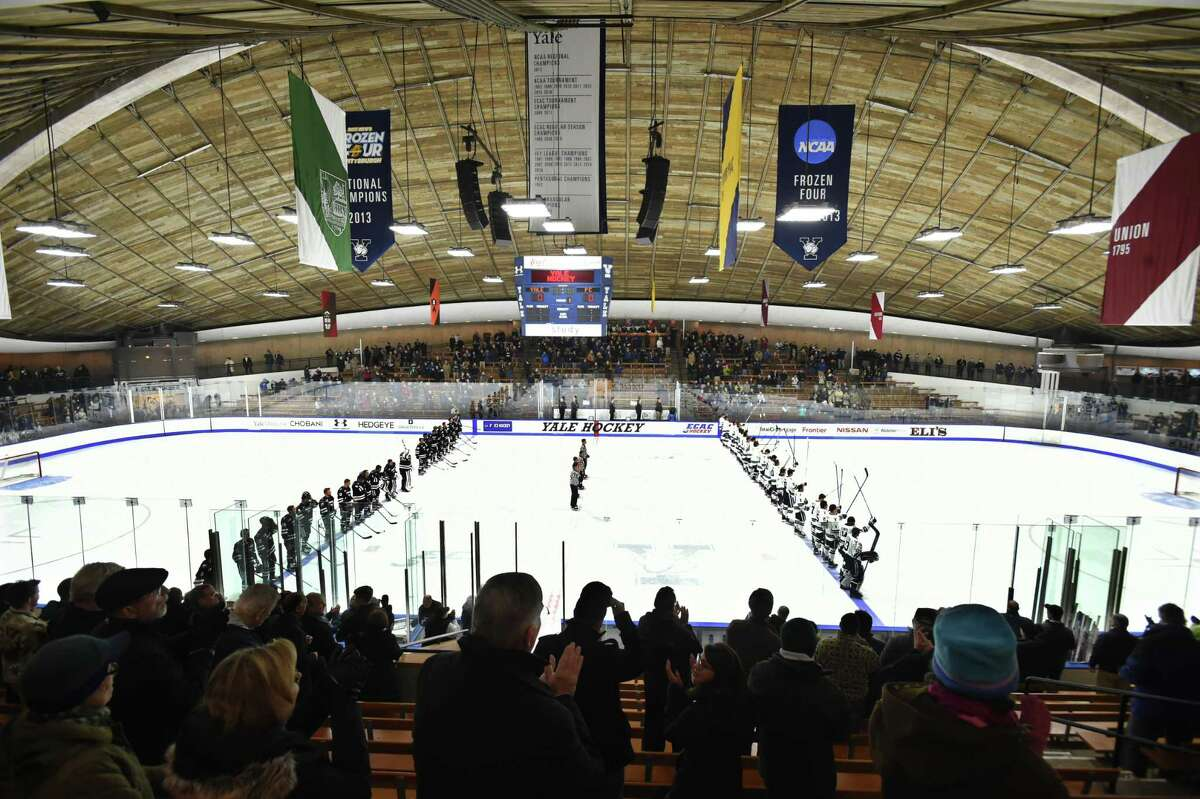 Yale's Ingalls Rink in New Haven.
