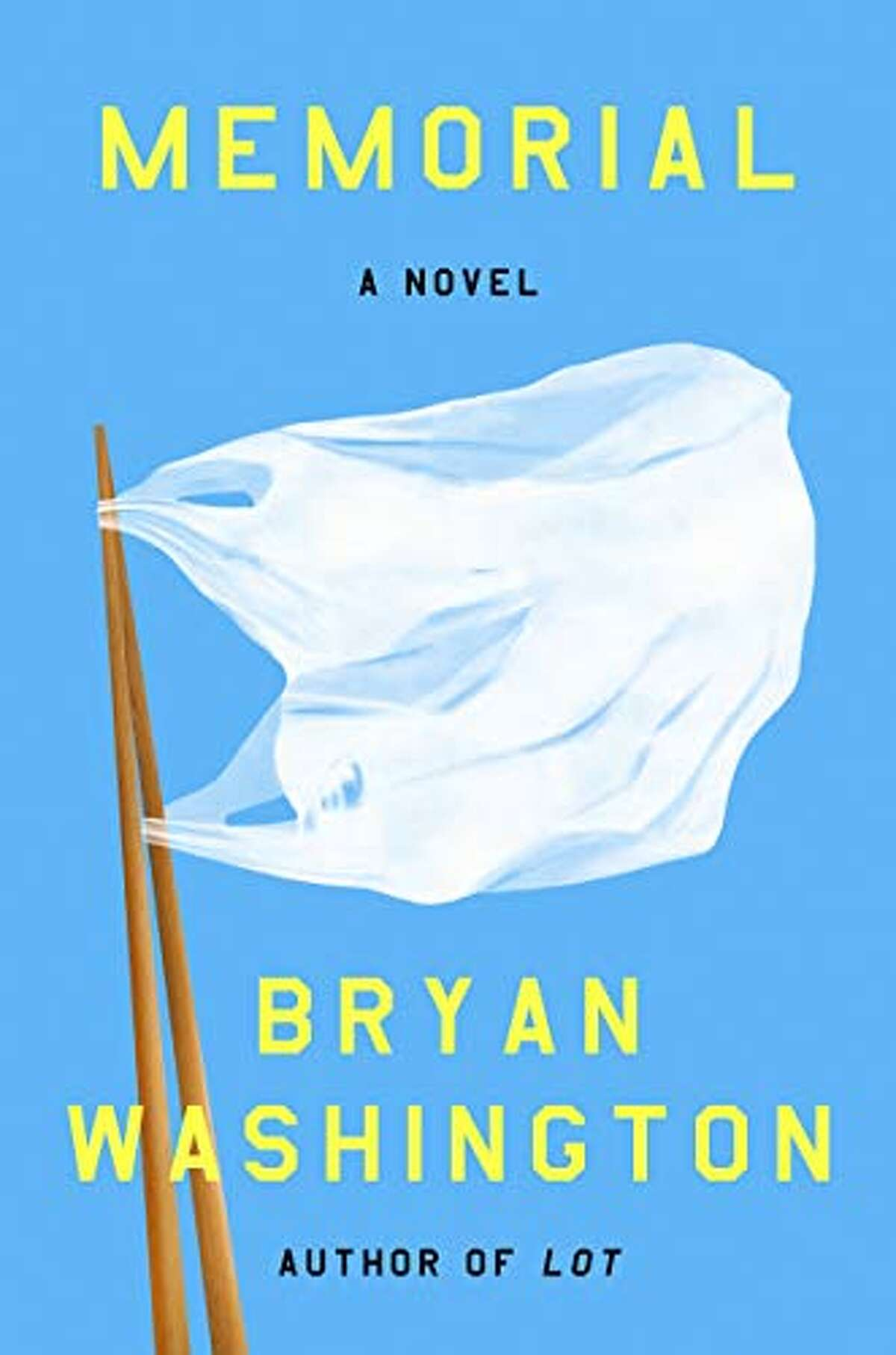 Cover image for Memorial, the debut novel by Bryan Washington.