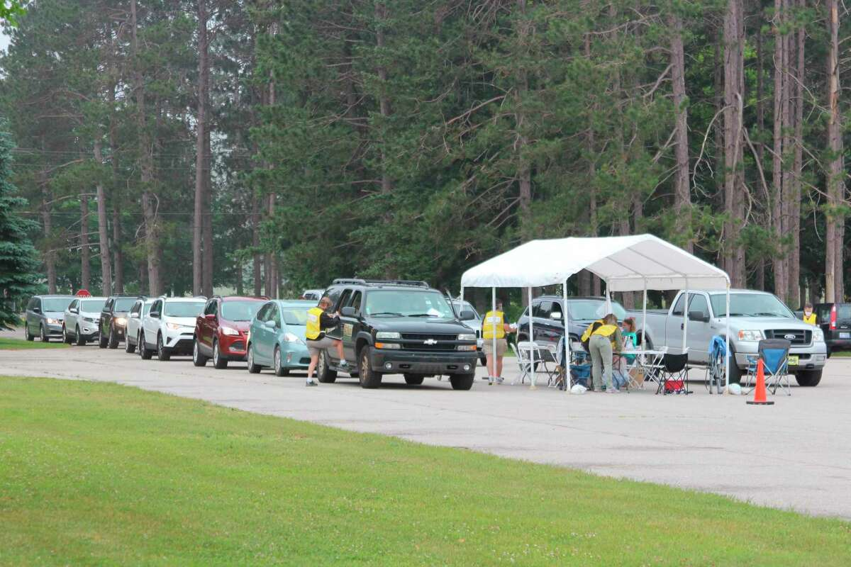 Area health departments are teaming up with other organizations to offer free drive-through testing for COVID-19 at three locations at the onset of the cold and flu season. (File Photo)