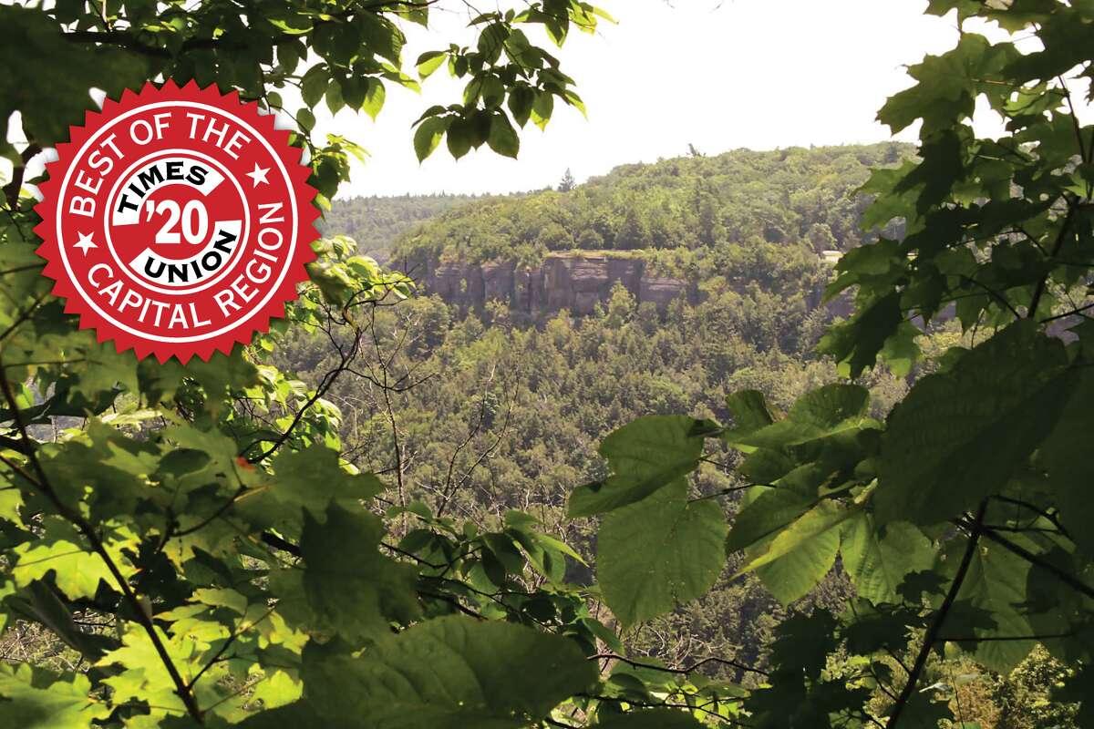 Best park 1. Thacher Park 1 Hailes Cave Road, Voorheesville | Website