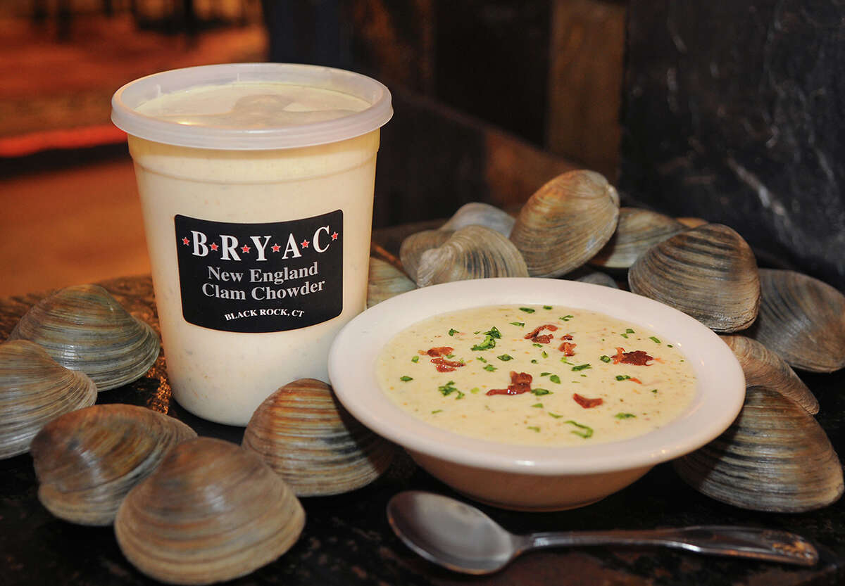 New England clam chowder from BRYAC in the Black Rock section of Bridgeport. Owner Mike Andre said he tapped into his social media following, posting the poll to Facebook various times to get the word out. He attributes the win to BRYAC's neighborhood feel and loyal customers.