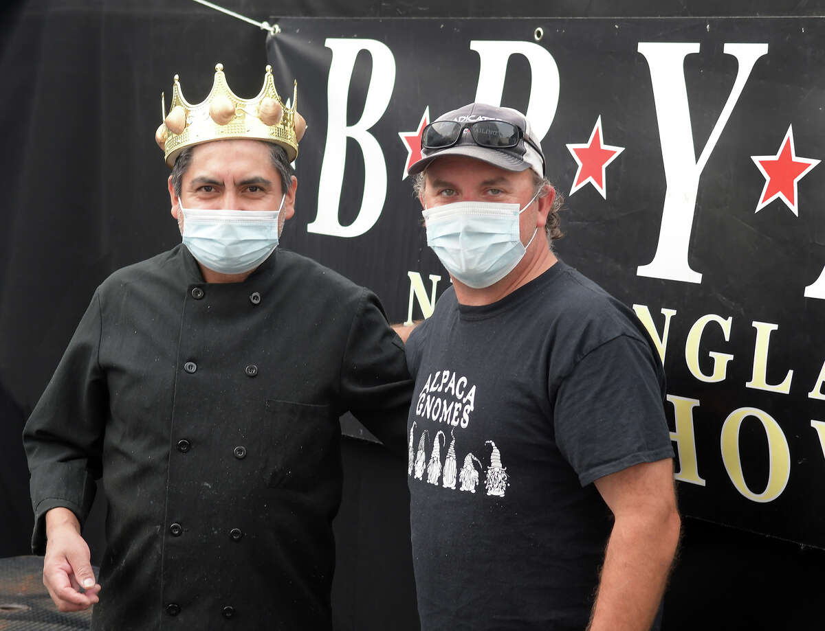 Chef Fidel Badillo and ownder Mike Andre of BRYAC in the Black Rock section of Bridgeport. BRYAC has competed in the annual Chowdafest competition in Westport three times, placing in the classic clam chowder category each time. The restaurant has also won best soup at the Soupstock Music & Arts Festival in Shelton. The pandemic has been a challenge for BRYAC, which has relied on events and competitions like that in the past.