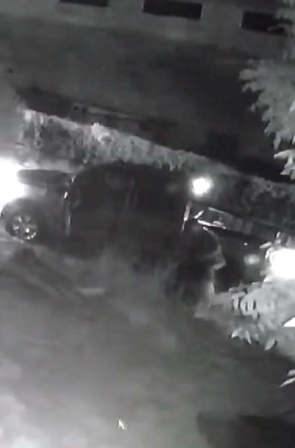 The man seen in this video beating and dragging a woman is being sought by Laredo police. Photo: Courtesy