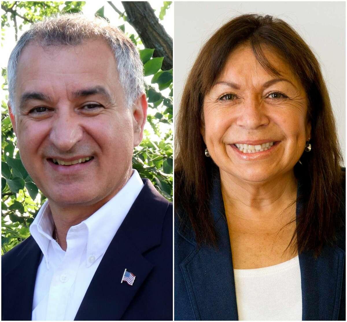 Carlo Leone (left) and Eva Maldanado (right)