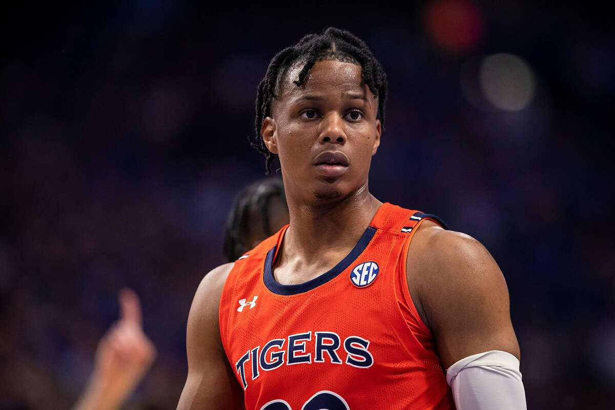 Isaac Okoro, who played at Auburn, might aspire to play the role Andre Iguodala once played on the Golden State Warriors.