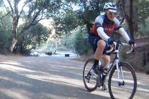 Kevin Ahlvin's Everesting quest in Tilden Park in Berkeley, California.