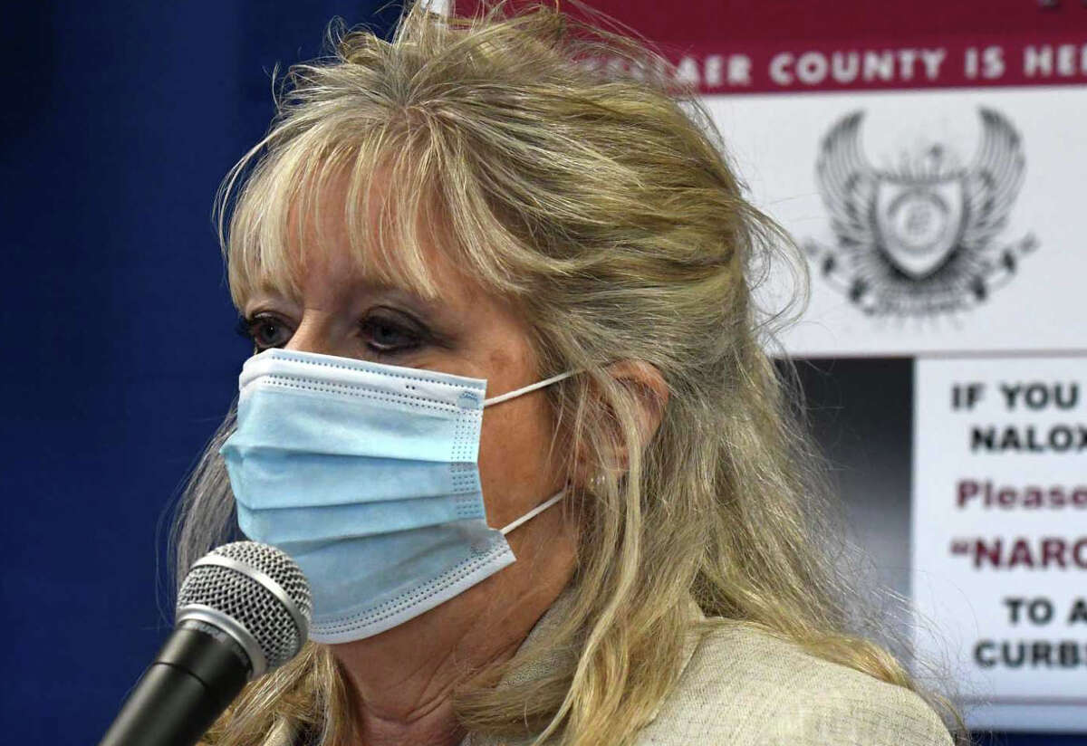 Rensselaer County Commissioner of Health, Mary Fran Wachunas. (Will Waldron/Times Union)
