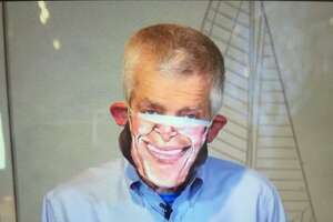 Mattress Mack in his literal face mask.