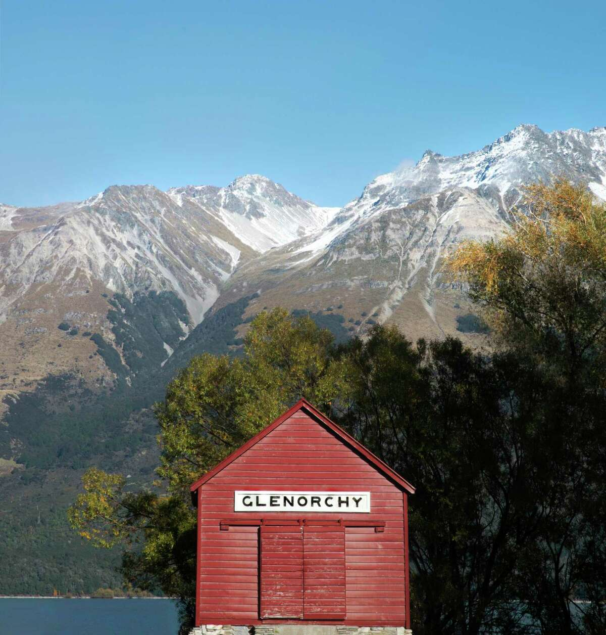 Wharf Shed in Glenorchy, New Zealand, photographed by Frida Berg for the book