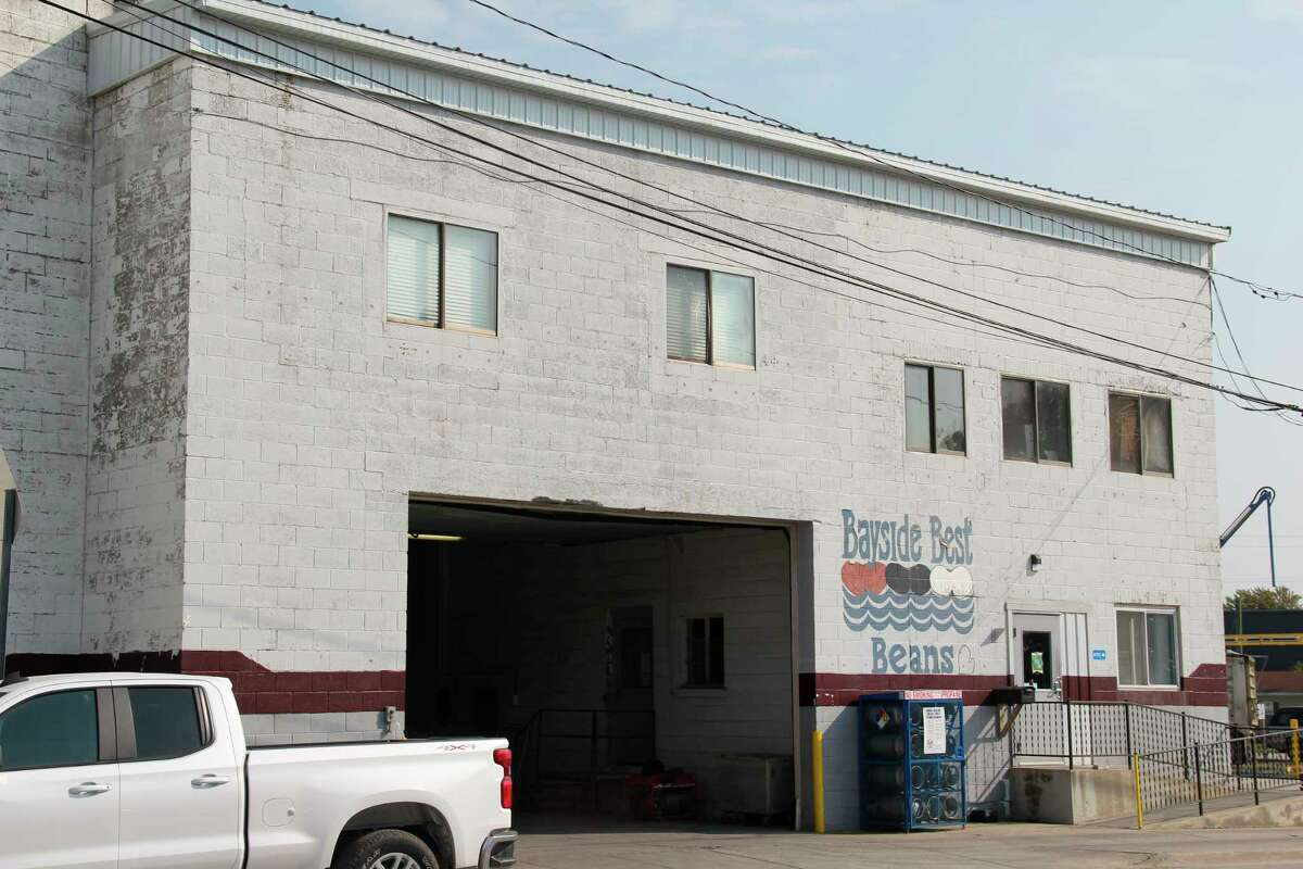 Bayside Best Beans in Sebewaing. The dry bean processor was one of several agricultural food processors in the Upper Thumb to receive grant money from the MEDC for coronavirus-related expenses (Robert Creenan/Huron Daily Tribune)
