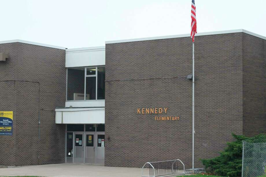 Kennedy Elementary School was closed Wednesday in response to a staff member testing positive for COVID-19. (Kyle Kotecki/News Advocate)