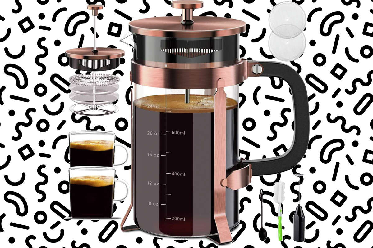 Upgraded French Press Lightning Deal for $19.19 at Amazon.